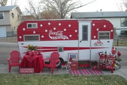 likin' the polka dots!!! Name: Coca Cola Cowgirl  Make: Road Runner  Year: 1972