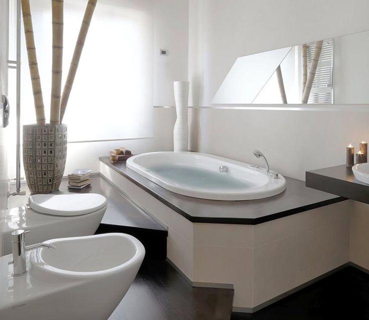 ideeper bagno moderno con vasca angolare - Cerca con Google