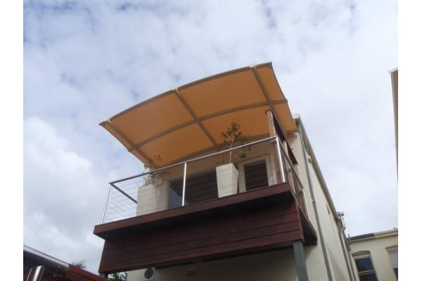 Cantilevered Balcony Batten Awning