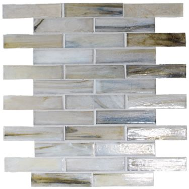 Malacassa Mosaic Glacier Brick Wall Tiles