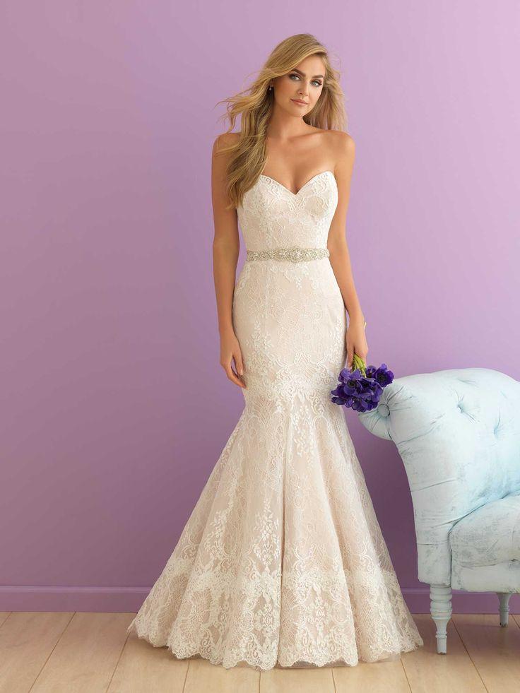 Allure Bridals: Style: 2856 | ALLURE R O M A N C E | Pinterest ...