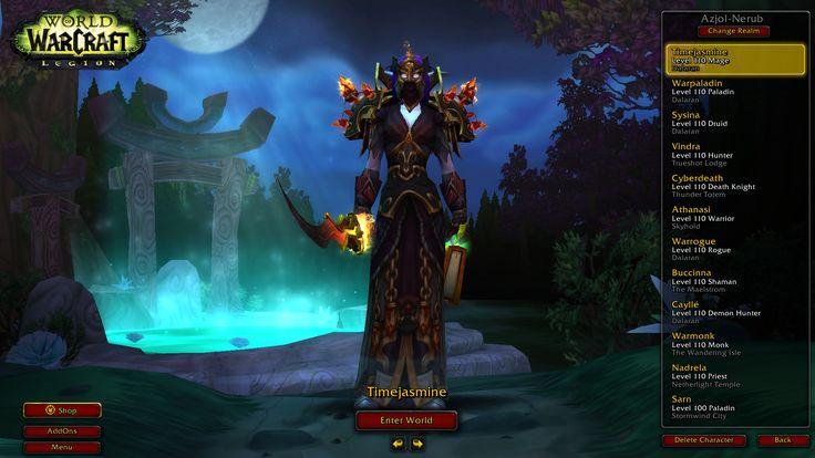 Time Jasmine and Warp Aladin. #worldofwarcraft #blizzard #Hearthstone #wow #Warcraft #BlizzardCS #gaming