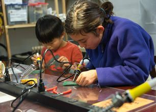 When children let their imaginations run wild, the STEM subjects get a boost