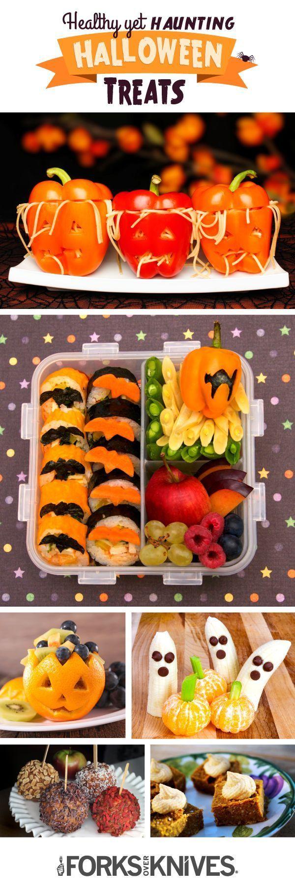 Haunting but Healthy Halloween Treats