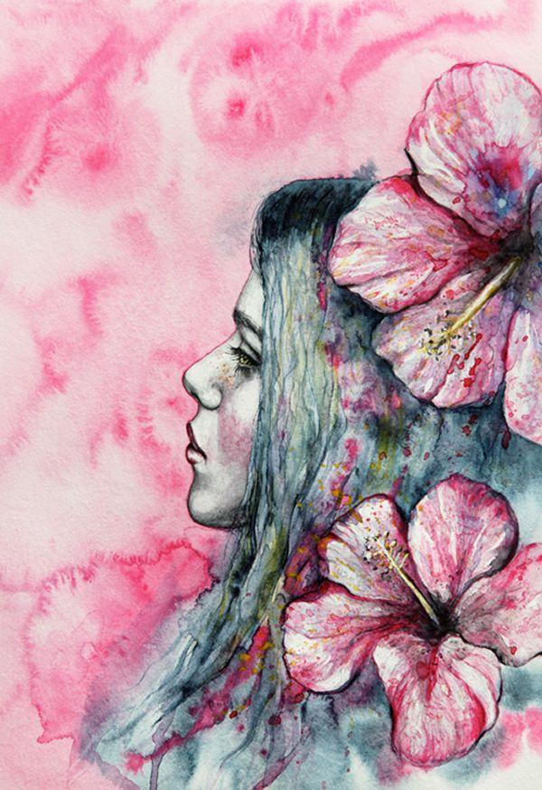 Watercolor art by Nika Akin 18 best