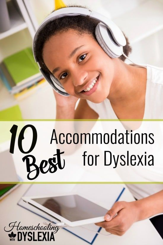 Accommodations allow dyslexic students to perform at their intellectual ability in the school setting even if they are still reading below grade level.