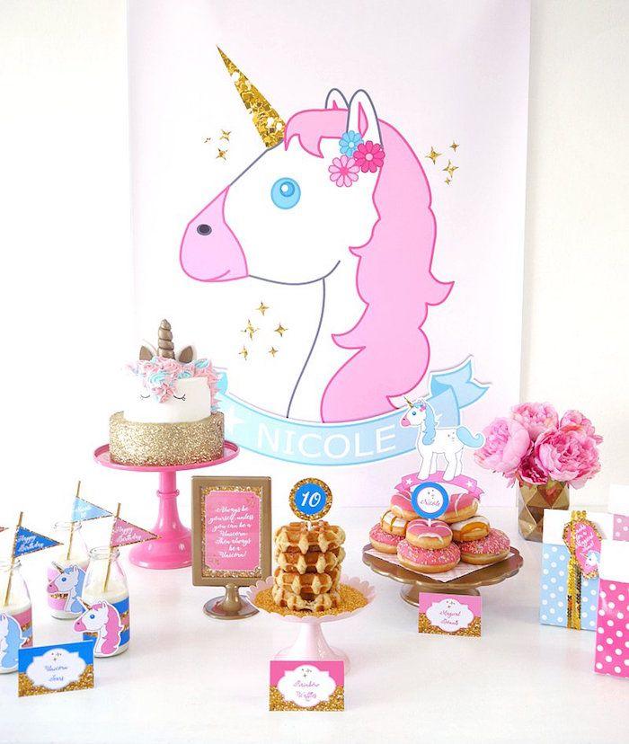 Unicorn Slumber Party On Kara's Party Ideas