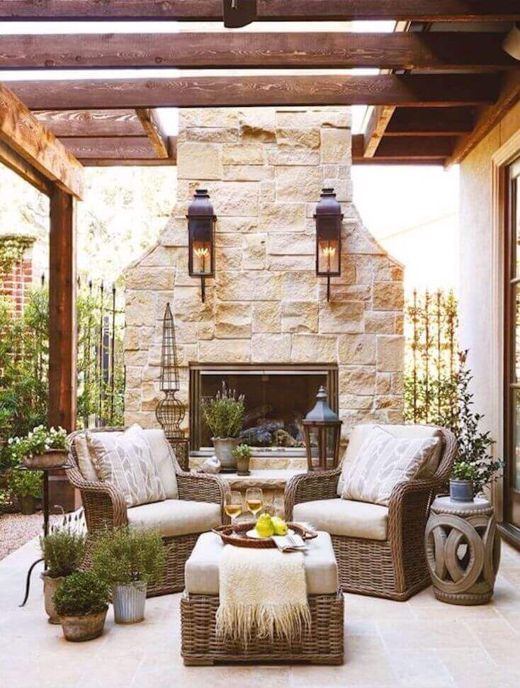 29 Of The Best Outdoor Living Rooms