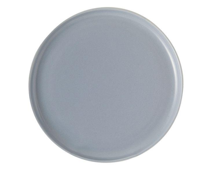 Conj. Prato Raso Leona - 4 peças - Azul