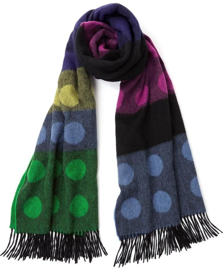 PS BY PAUL SMITH Polka Dot Scarf