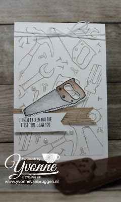 Yvonne is Stampin' & Scrapping: Stampin' Up! Nailed it! card #stampinup