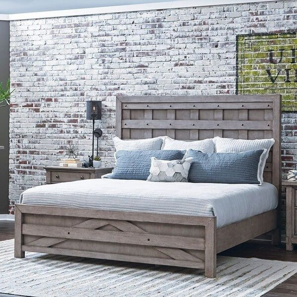 Creating pallets wood bed frame is the cheapest way to renovate your bedroom. This bed frame with downside blocks offers storage to you. Use of glamorous light balls inside the bed frame makes it's stunning and beautiful in a display. This is the best bed frame for small size bedrooms.