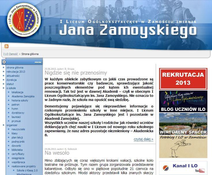 """""""Chcemy włączyć do naszych działań oprócz nauczycieli informatyki, którzy odpowiadają za kwestie techniczne, również nauczycieli pozostałych przedmiotów."""" - to jeden z wniosków wypracowanych podczas spotkania podsumowującego w I LO w Zamościu. O innych ich ustaleniach dowiecie się z relacji koordynatora, pana Grzegorza Nogasa. Opis znajdziecie tutaj: http://szkolazklasa2012.ceo.nq.pl/dokument_widok?id=9809"""