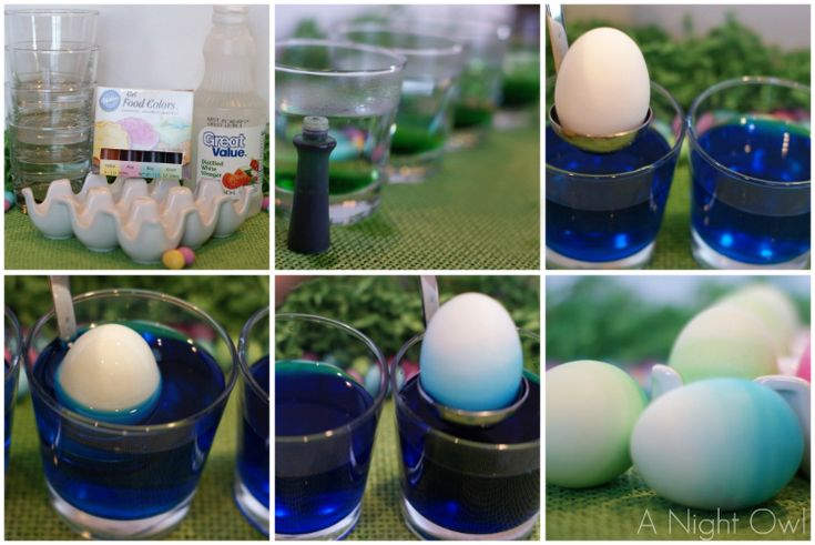 {Easter Egg Hunt} Ombre Easter Eggs