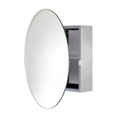 Shop the Croydex Severn Circular Door Stainless Steel Mirror Cabinet. A stunning way to upgrade your bathroom. Now in stock at Victorian Plumbing.