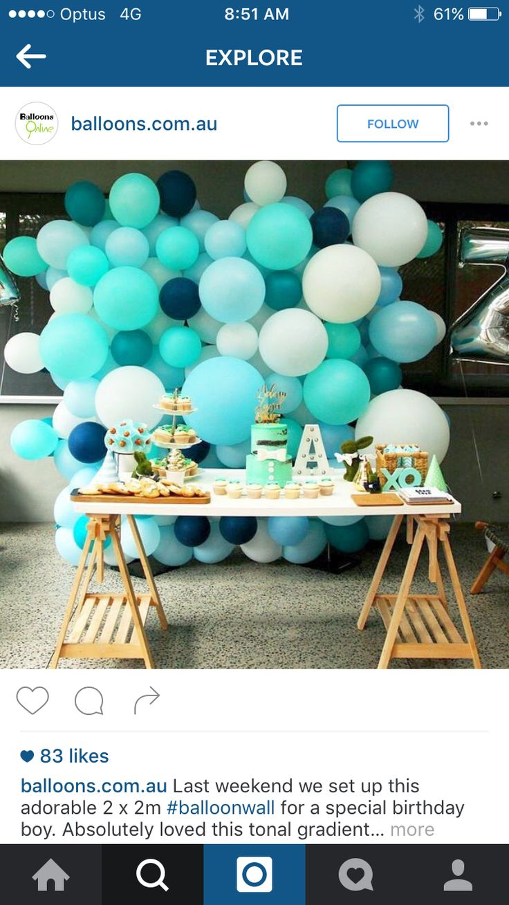 The 25 best balloon backdrop ideas on pinterest for Balloon and streamer decoration ideas