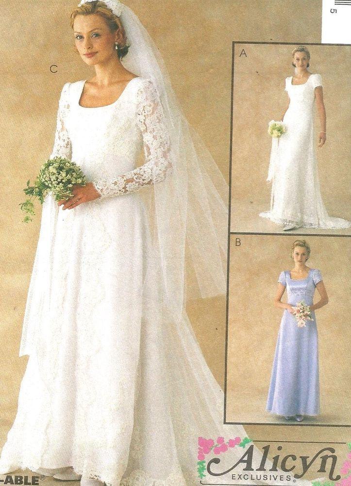 Mccalls Plus Size Wedding Dress Patterns - Homecoming Prom ...
