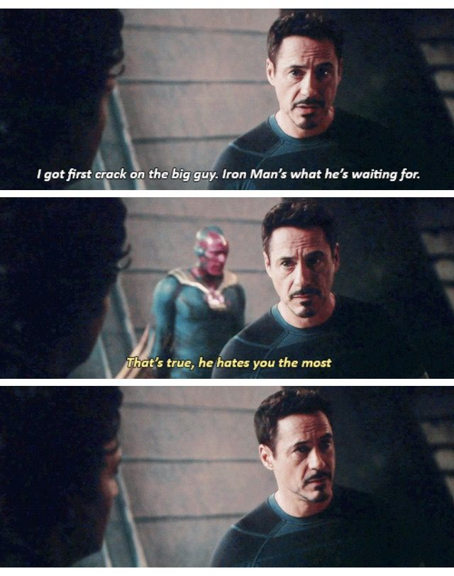 A friendly reminder that The Vision kept JARVIS' sass.