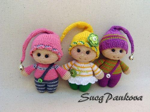 Homemade dolls Such cuties