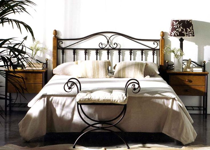 25 best images about cama de forja on pinterest antigua - Decoracion cabeceros de cama ...