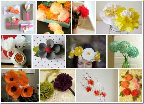 Flower DIYs: Diy Prints, Flowers Diy, Diy Flowers, Diy Collage, Diy Crafts, Flowers Flowers, Flowers Tute