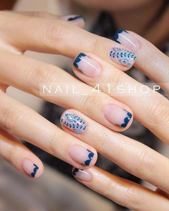 Short Nails Manicure Ideas – Short Nails Nail Art Designs – NailiDeasTrends