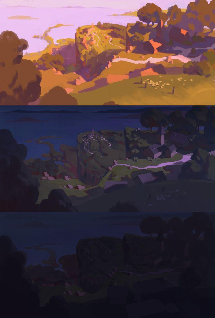 ArtStation - Color study_2016, yeonji Rhee