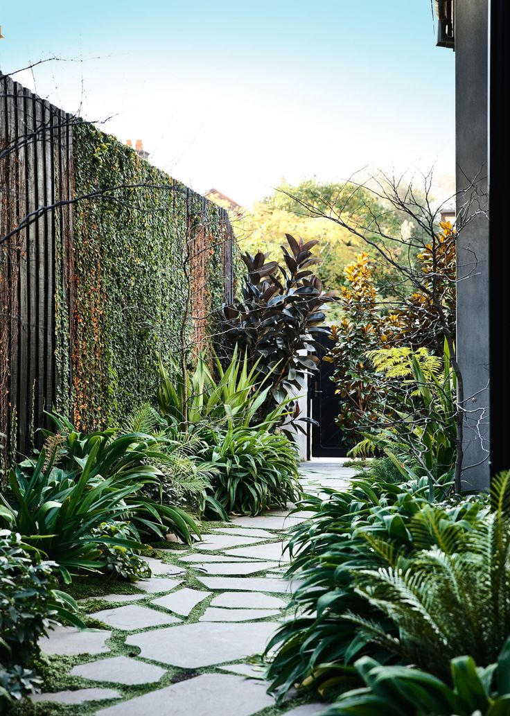 Entry path from Victorian home renovation by B.E Architecture. Photography: Derek Swalwell | Styling: Julia Green | Story: Australian House & Garden