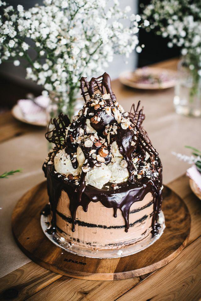 Classy Woman - confectionerybliss: Affogato Cake | Alana Bread