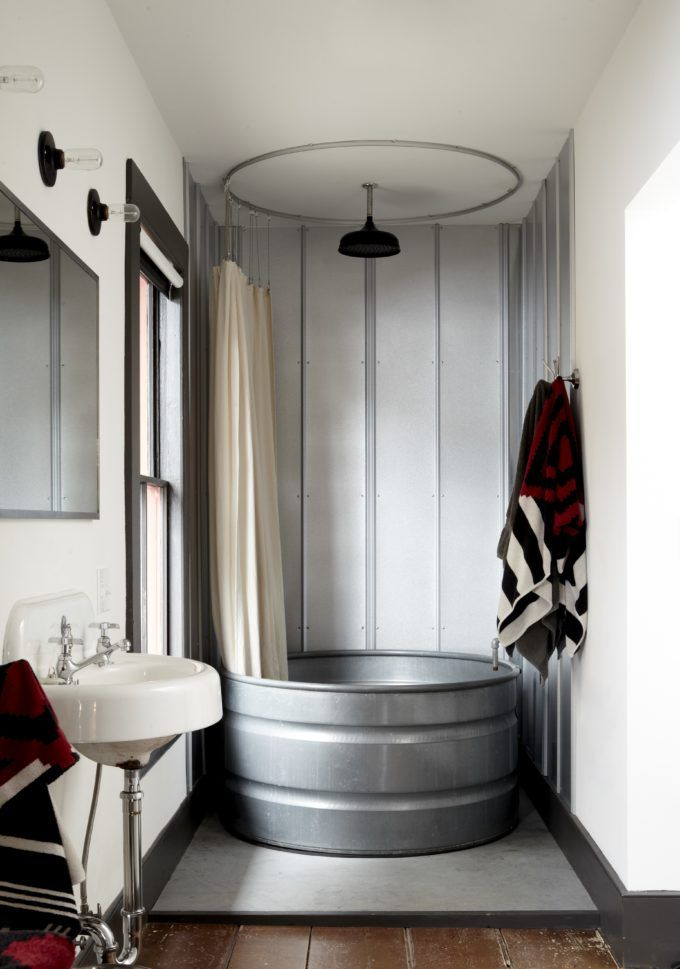 Home Design Trends: Galvanized Stock Tanks and Feed Troughs as Décor || Glitter, Inc.