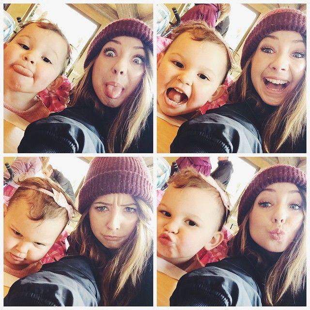 Haha zoella and emilia! Emilia's faces