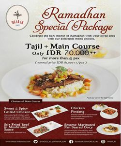 Oh Lala Cafe Promo Ramadhan Special Package http://www.perutgendut.com/read/oh-lala-cafe-promo-ramadhan-special-package/2010 #Promo #Food #Kuliner #Indonesia #Ramadhan