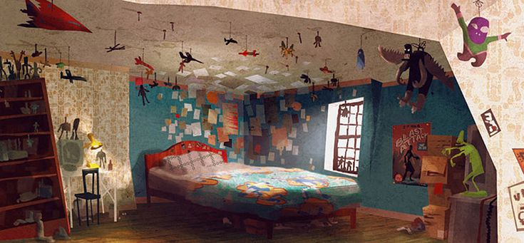 Boy Bedroom Designs Living Lines Library: Paranorman (2012) - Environment
