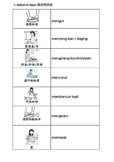 Bm Bahagian A Bina Ayat Onedrive Kata Kerja Pinterest Malay Language And Malaysia
