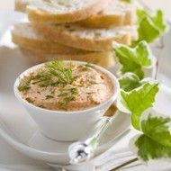 Recept voor stokbrood met zalmboter