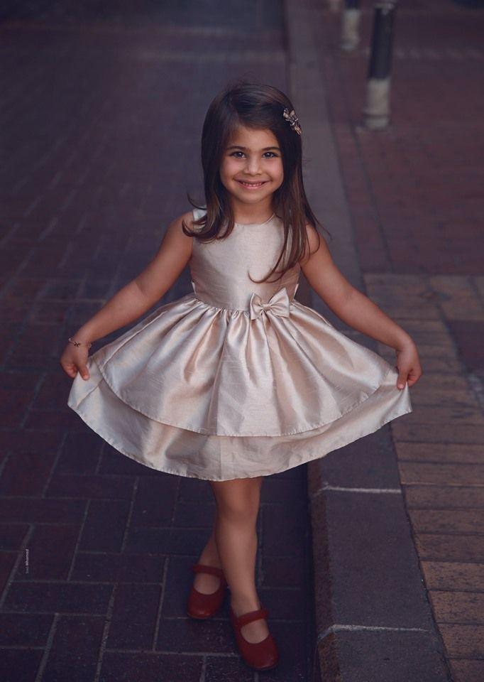 Süß Blumenmädchenkleider Kurz | Kinder Hochzeitskleider ...
