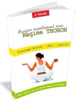 REGIME THONON - JOUR 1 - Programme minceur, menu détaillé du régime Thonon Les Bains. Recettes et FORUM