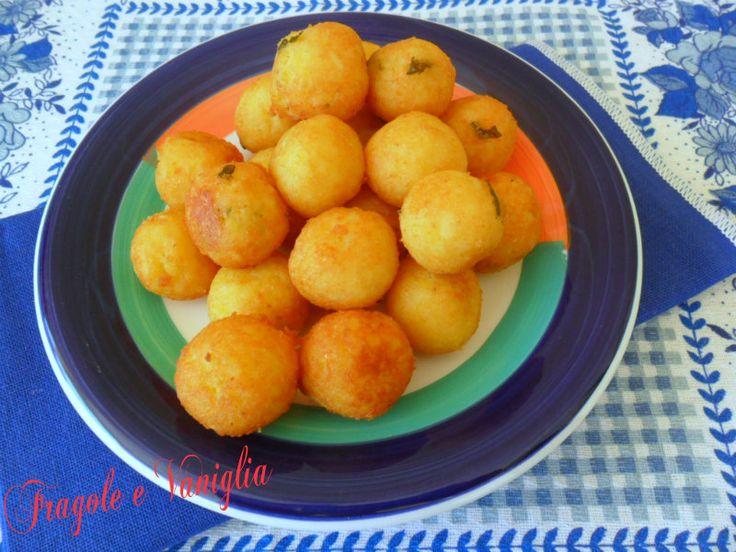 #Polpette  di #patate alla #salentina