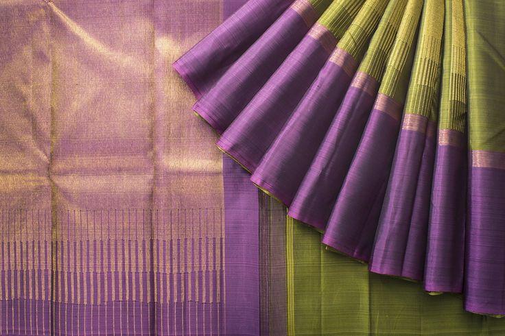 Kanakavalli Handwoven Kanjivaram Silk Sari 1020866 - Saris / All Saris - Parisera