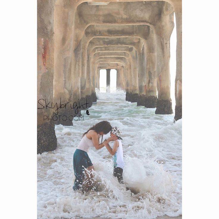 Mommy and me beach photos Beach photography | Mother and son | #skybrightphotogr… – Krystle Williams