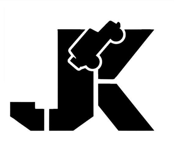 JK Auto Vinyl Jeep Decal on Etsy, $6.58 CAD