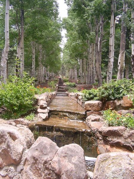 prayer garden in glorieta, nm