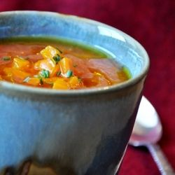 Too hot to cook? Take a hint from the Spanish-Gazpacho is the perfect hot weather meal!