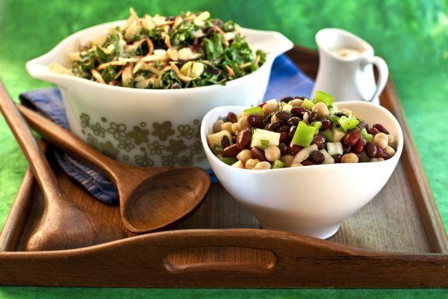 Drie bonen salade