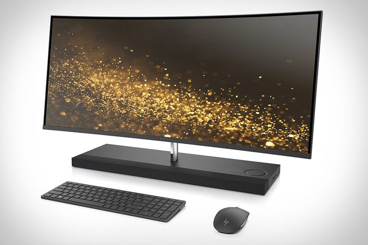 The prior Envy Curved was a good desktop. It was just a little... ugly. The new HP Envy Curved AIO 34 Desktop has no such problem. Like the Envy AIO 27, it hides its key components in a sleek tabletop...