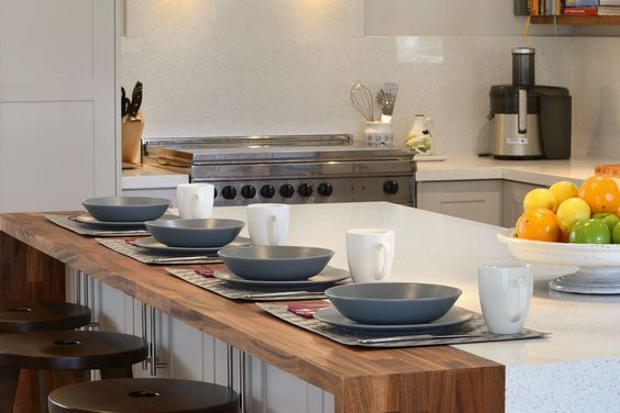 Extended kitchen island with maple benchtop, barry dubois renovation, handyman magazine, rural renovation,
