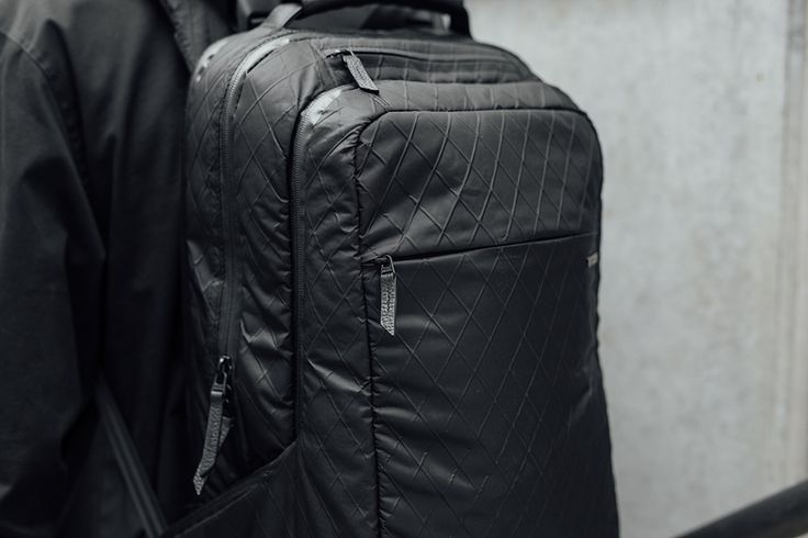 Protection, evolved. Organize, protect and carry your MacBook and other essentials in our durable, stylish backpack, with elevated Diamond Wire material.