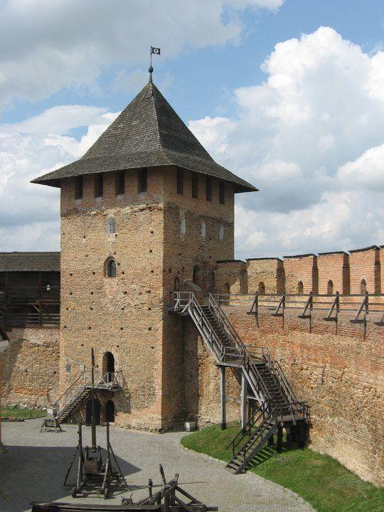 Lubart's Castle, Lutsk, Ukraine.