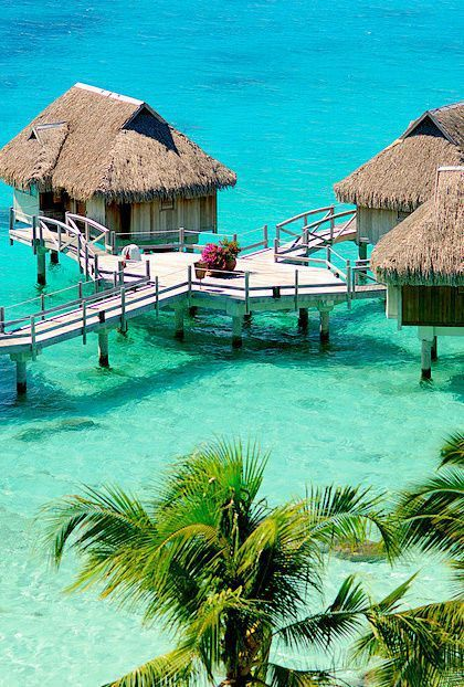 Beach cottages the maldives sobre el agua pinterest for Cabanas en el agua bali
