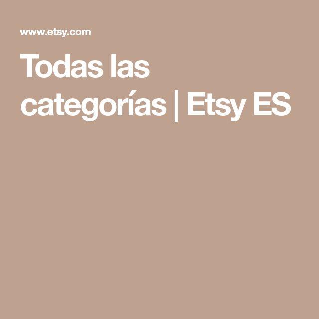 Todas las categorías   Etsy ES